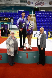 ISS Coventry - Zoe and Chris, British Champions - Pairs