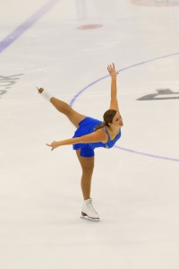 Ellen Williams from ISS Coventry came 4th in the silver ladies category at the Adult British Championships and competed in the artistic competition.